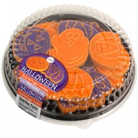 71025 23oz Halloween Sugar Platter