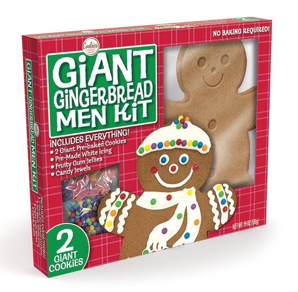 2 Giant Gingerbread Men Kit 16099 Cookies United