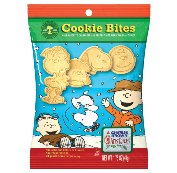 Charlie Brown Christmas Cookie Bite Pouch 16116 Cookies United