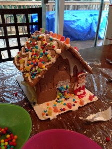 My ELF House! We had a great time!