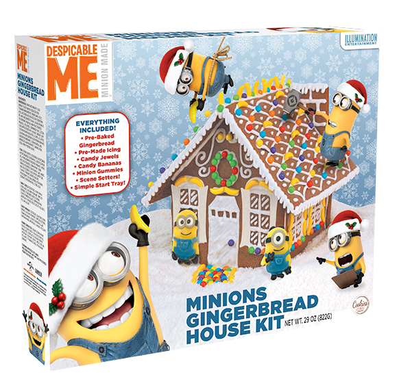 Minions_gingerbread House Kit