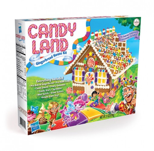 Candy Land Gingerbread House Kit 16155 - Cookies United