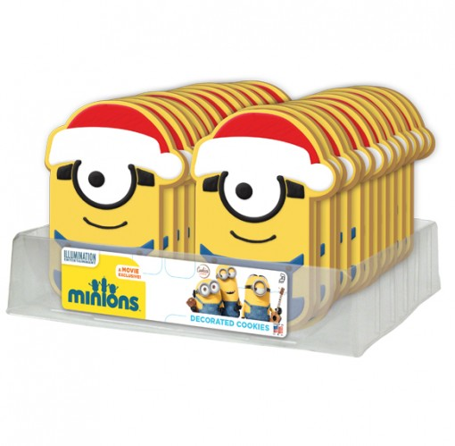 Minions Christmas Decorated Cookies 16245 Cookies United