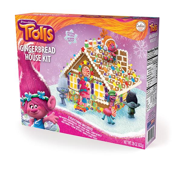 Trolls Gingerbread House Kit 12275 Cookies United